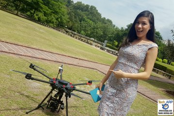 DJI Matrice 600 Drone Preview & Flight Demonstration