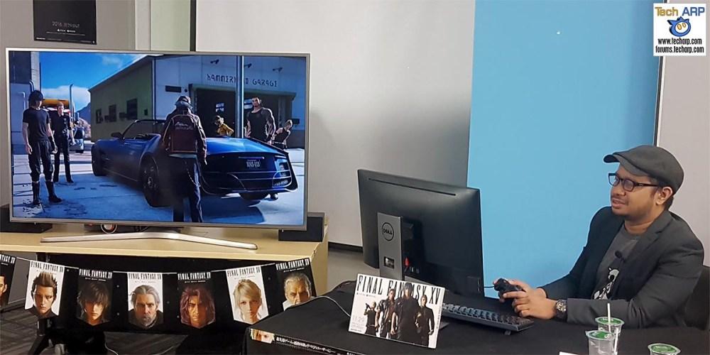 Final Fantasy XV PC Development Version