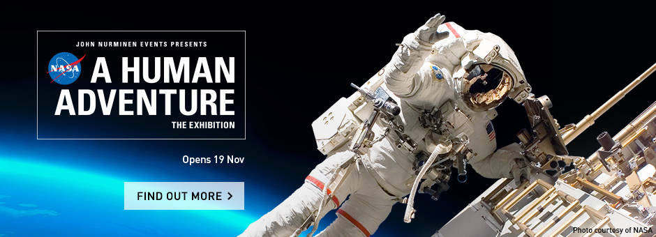 NASA - A Human Adventure Launches @ ArtScience Museum