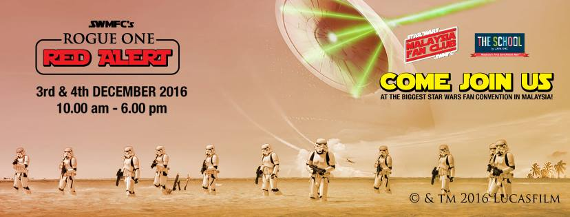 SWMFC Rogue One : Red Alert' Event