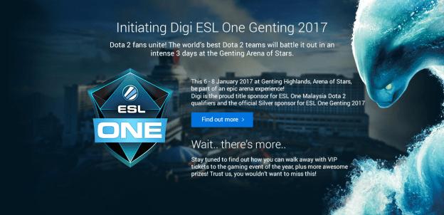 Digi ESL One Dota 2 Malaysian Qualifiers