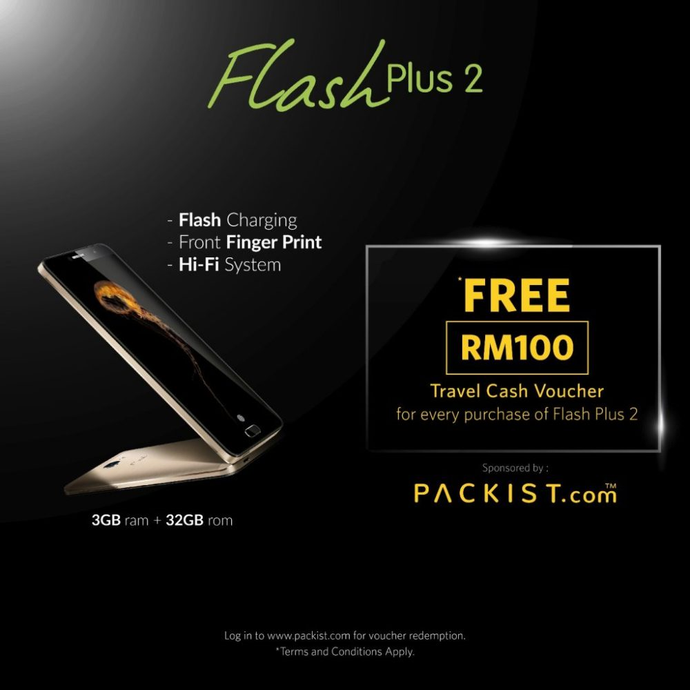 RM100 Travel Voucher With Flash Plus 2 Purchase