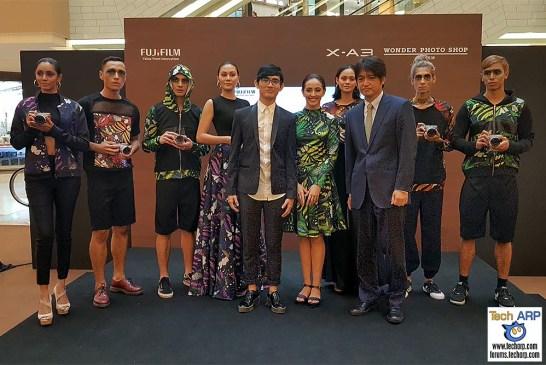 Fujifilm X-A3 Mirrorless Camera & Wonder Photo Shop Launch