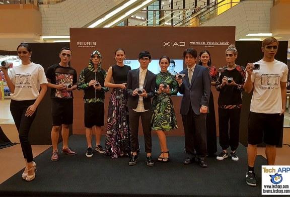 Fujifilm X-A3 + Wonder Photo Shop Launched!