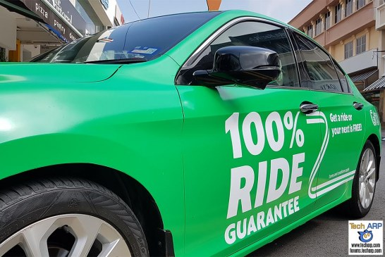 Grab 100% Ride Guarantee At Selected Locations