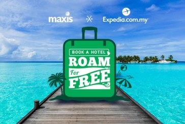 Maxis FREE Data Roaming With Expedia Offer