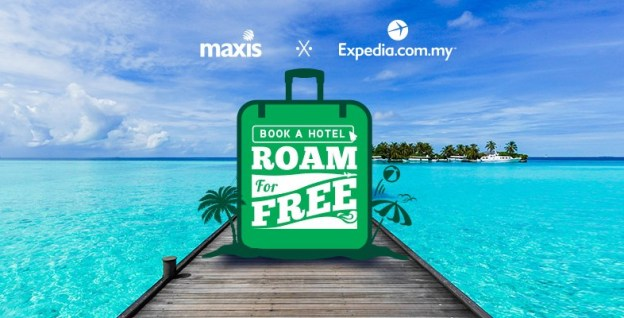 Maxis FREE Data Roaming With Expedia