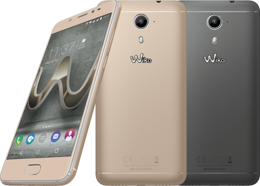 Wiko Ufeel Prime Latest Smartphone Launched