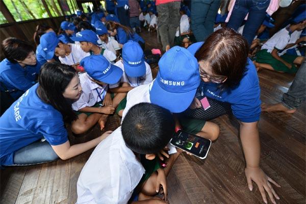 Samsung Love And Care In Cambodia