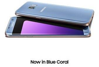 The Samsung Galaxy S7 edge Blue Coral Is Here!