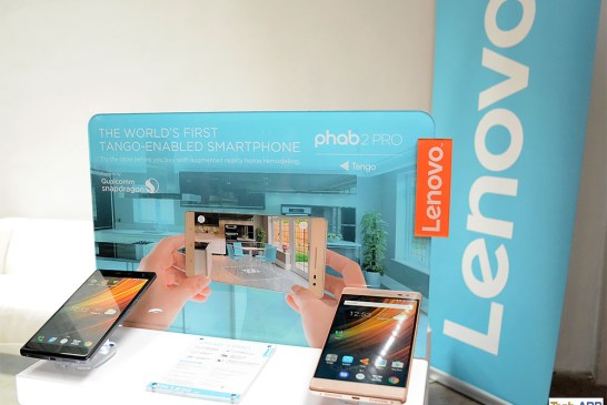 Lenovo Yoga Book & Phab 2 Smartphones Launched