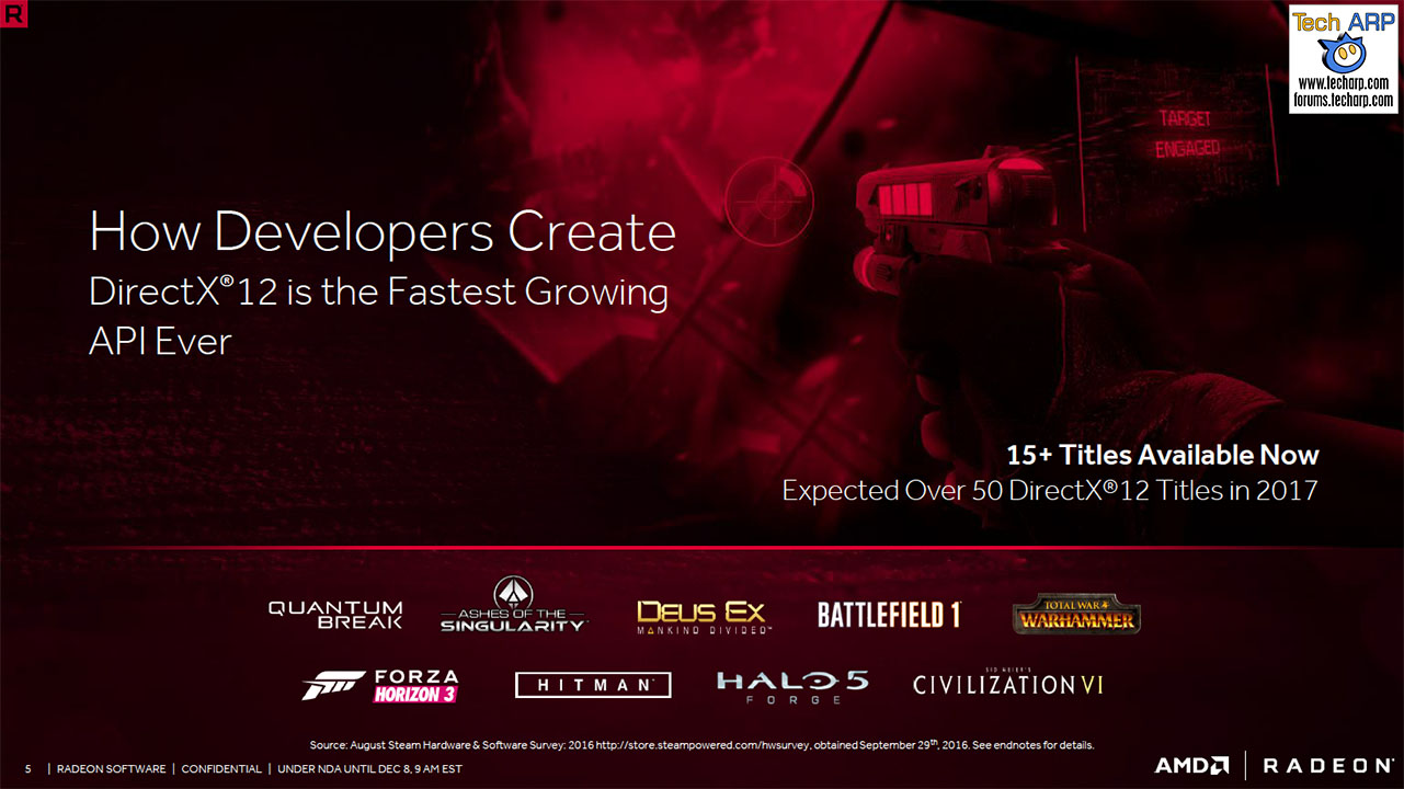 The AMD Radeon Software Crimson ReLive Edition Revealed! - Tech ARP