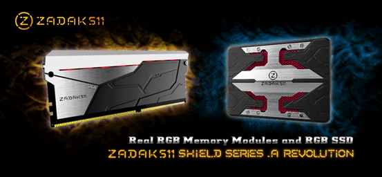 ZADAK511 Shield RGB Series Announced
