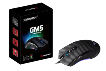 BIOSTAR RACING GM5 Gaming Mouse Officially Launched