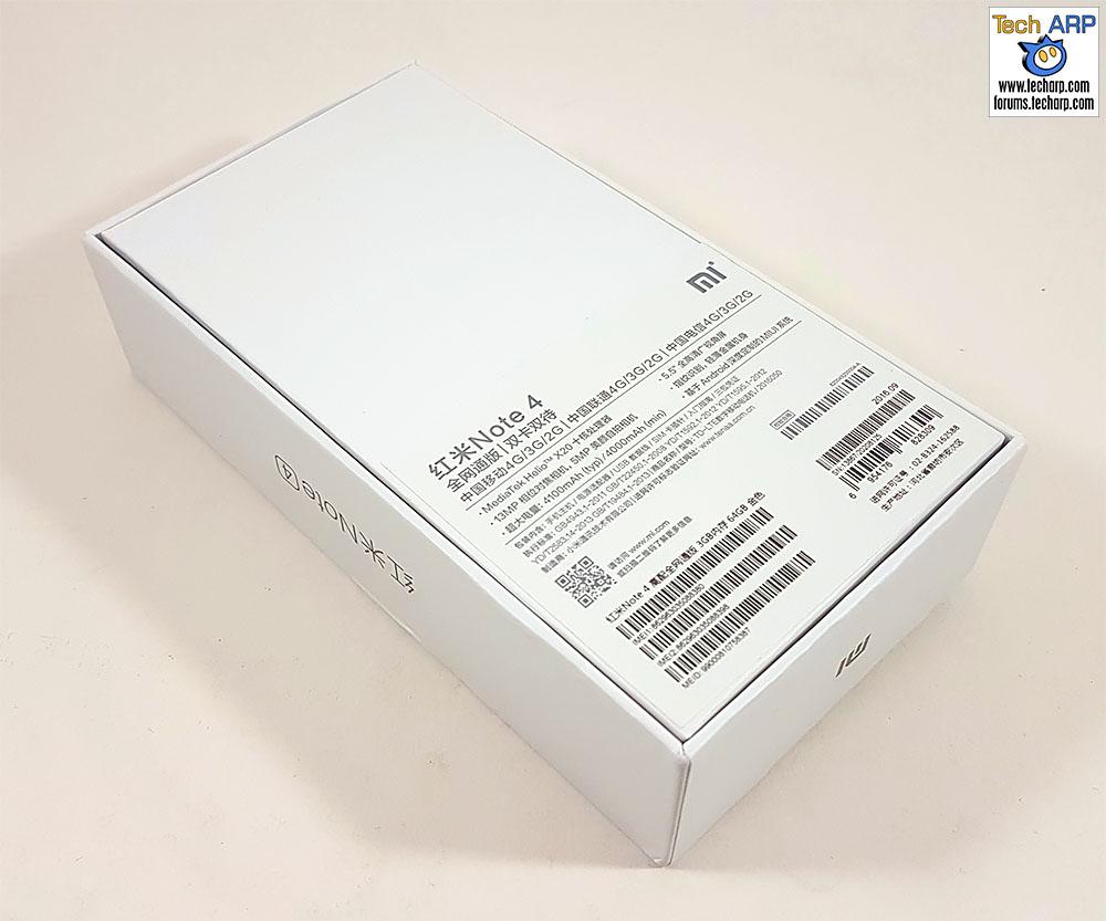 The Xiaomi Redmi Note 4 (Helio X20 Model) Review