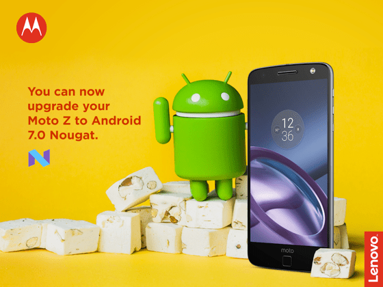 Android 7.0 Nougat Now Available On Motor Z