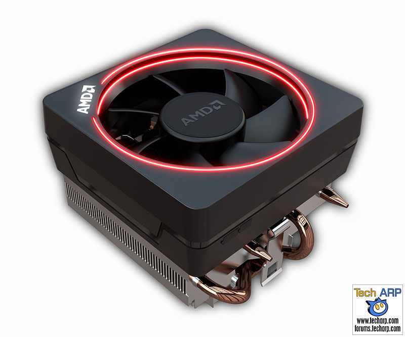 The 16 New AMD Ryzen 7 CPU Coolers Revealed - AMD Wraith Max cooler