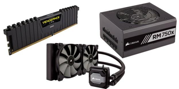 Power Your AMD Ryzen With Corsair DDR4, Hydro Cooler & PSU