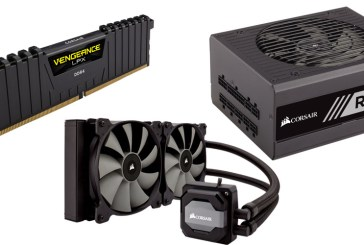 Power Your AMD Ryzen With Corsair DDR4, Hydro Cooler & PSU