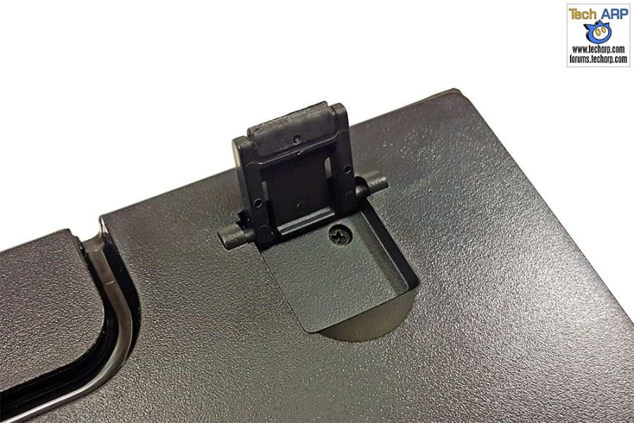 The GAMDIAS Hermes RGB Mechanical Gaming Keyboard stand