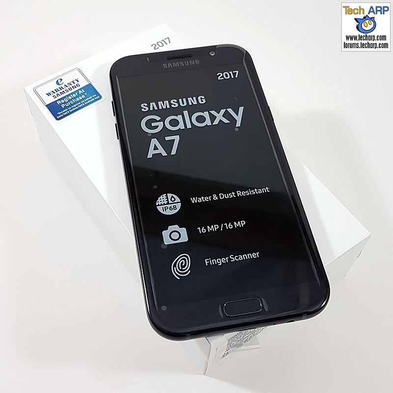 The 2017 Samsung Galaxy A7 (SM-A720F)