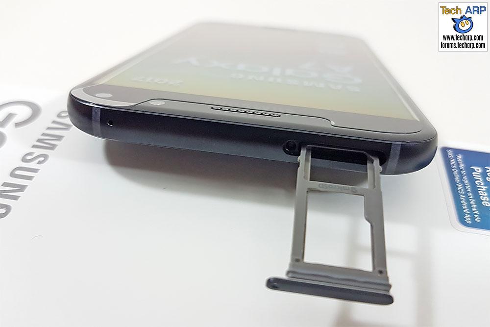 The 2017 Samsung Galaxy A7 (SM-A720F) top