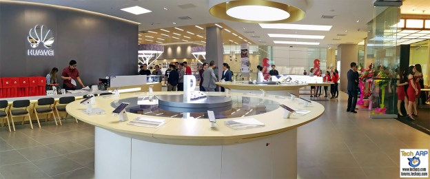 Here is the First Huawei Flagship Store in the Southern Pacific!