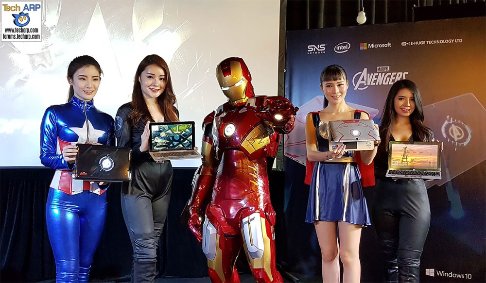 The Avengers AVR116T & AVR10T Tablets Revealed!