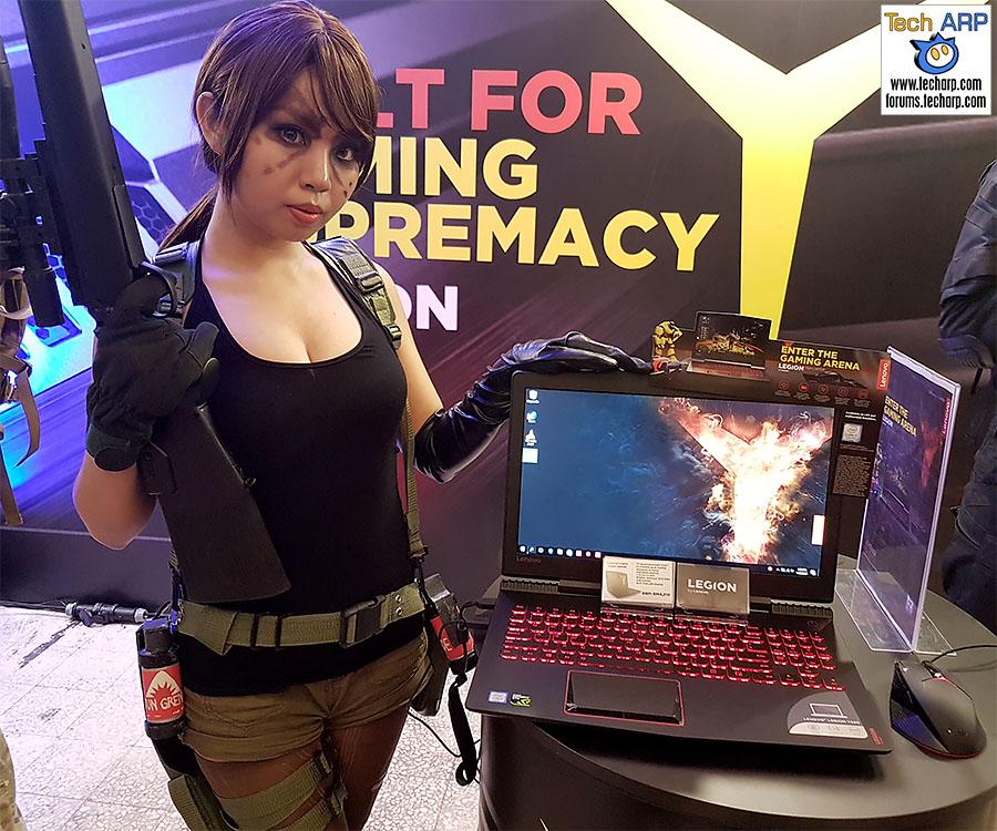 The Lenovo Legion Y520 Gaming Laptop