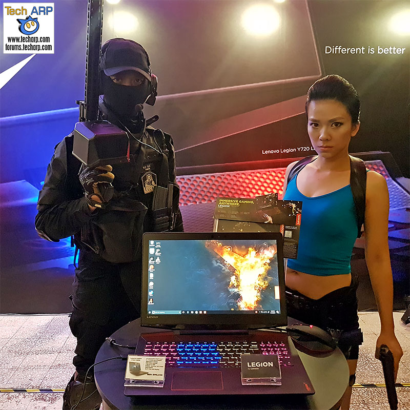 The Lenovo Legion Y720 Gaming Laptop