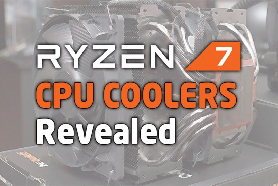 The 15 New AMD Ryzen 7 CPU Coolers Revealed