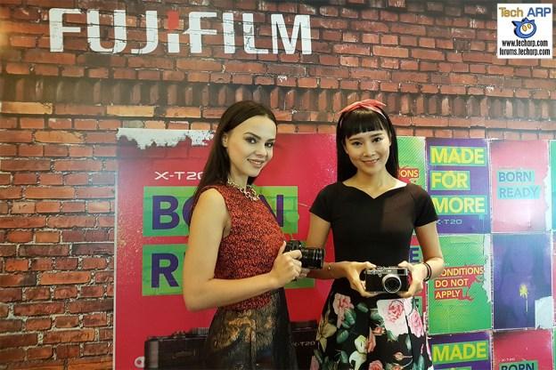 The FUJIFILM X-T20 & X100F Mirrorless Cameras Revealed!