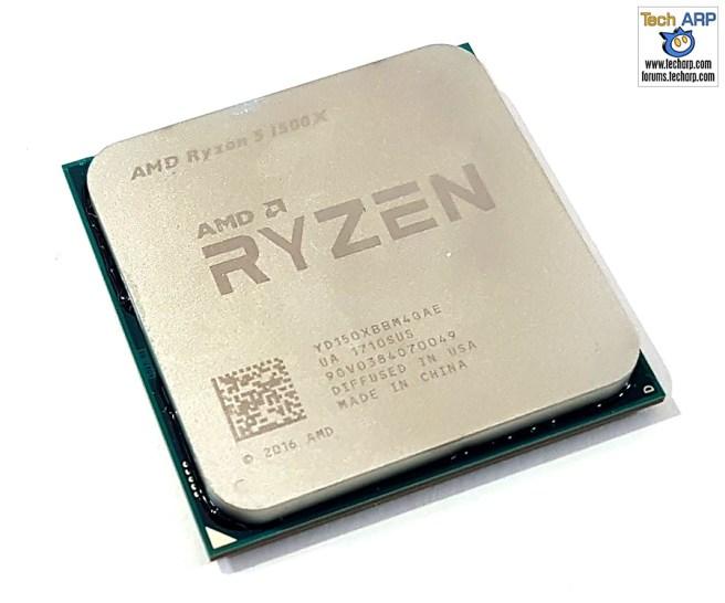 The AMD Ryzen 5 1500X CPU