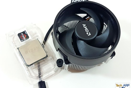 AMD Ryzen 5 1500X box contents