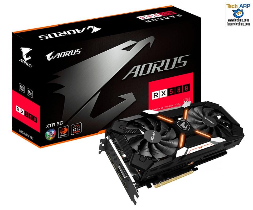 AORUS Radeon RX580 XTR 8G