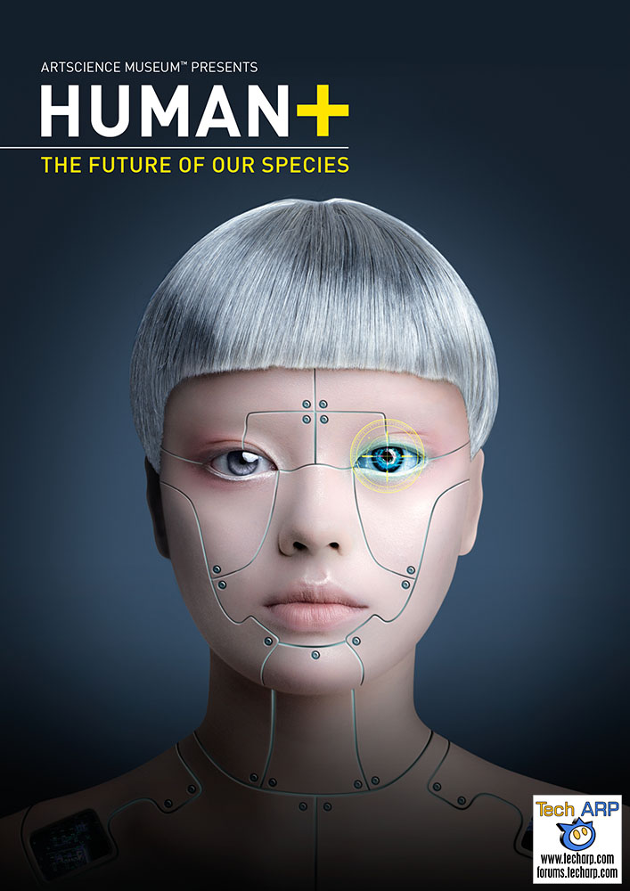 The Cyborgs Are Coming To The ArtScience Museum!