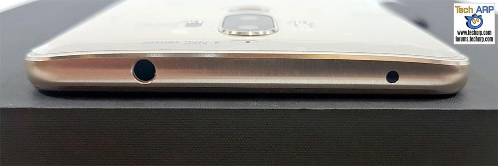 Huawei Mate 9 audio port