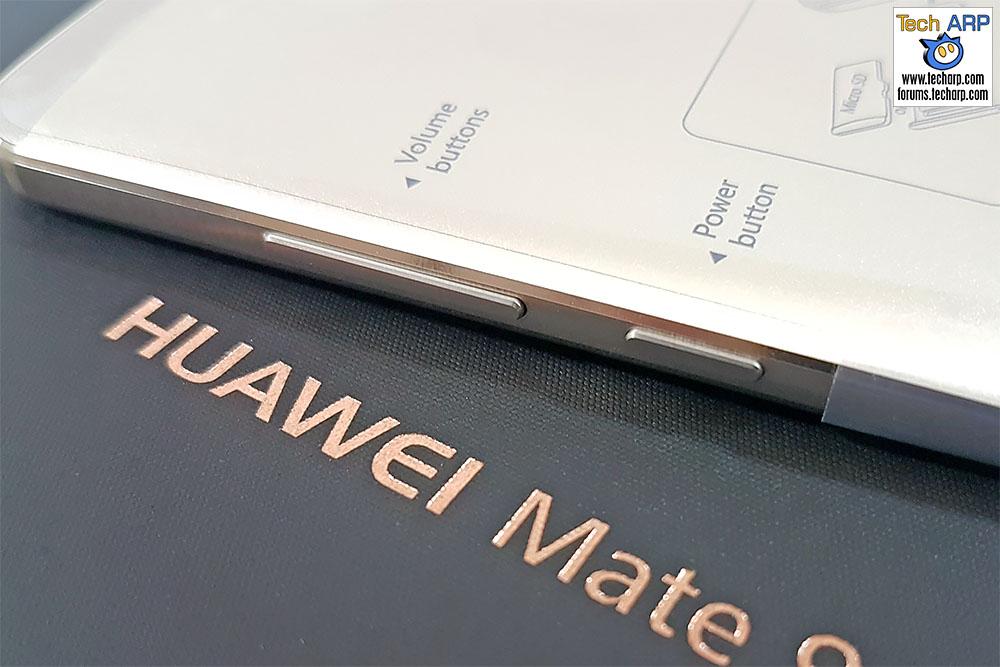 Huawei Mate 9 buttons