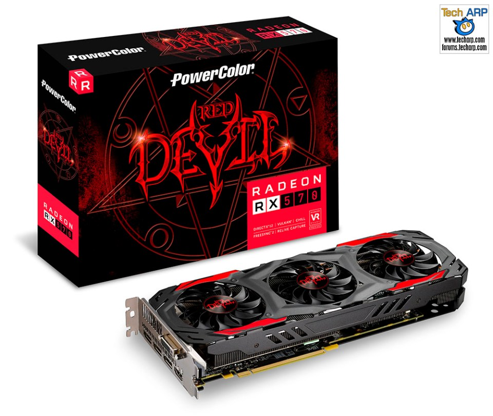 PowerColor Radeon Red Devil RX 570