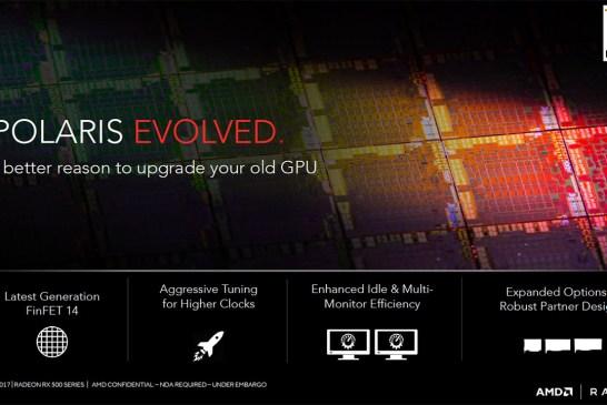 The AMD Radeon RX 500 Series Tech Report