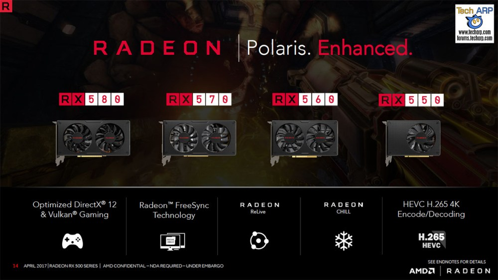 The AMD Radeon RX 500 Series Tech Report
