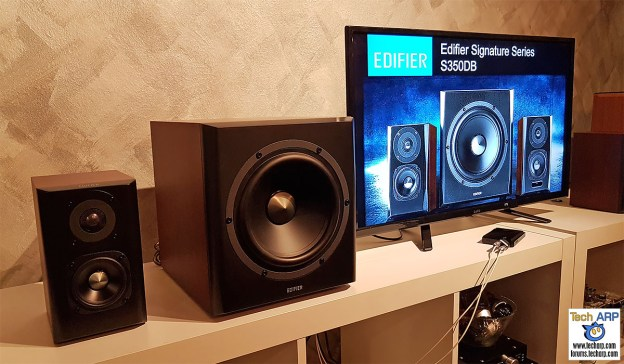 The Edifier S350DB Price, Specifications & DemoThe Edifier S350DB Price, Specifications & Demo