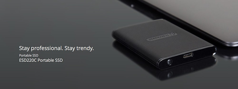 The Transcend ESD220C Portable SSD Launched