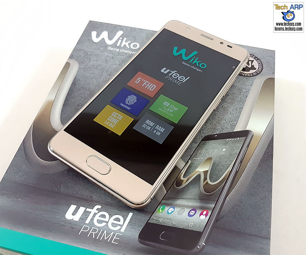 The Wiko U Feel Prime smartphone