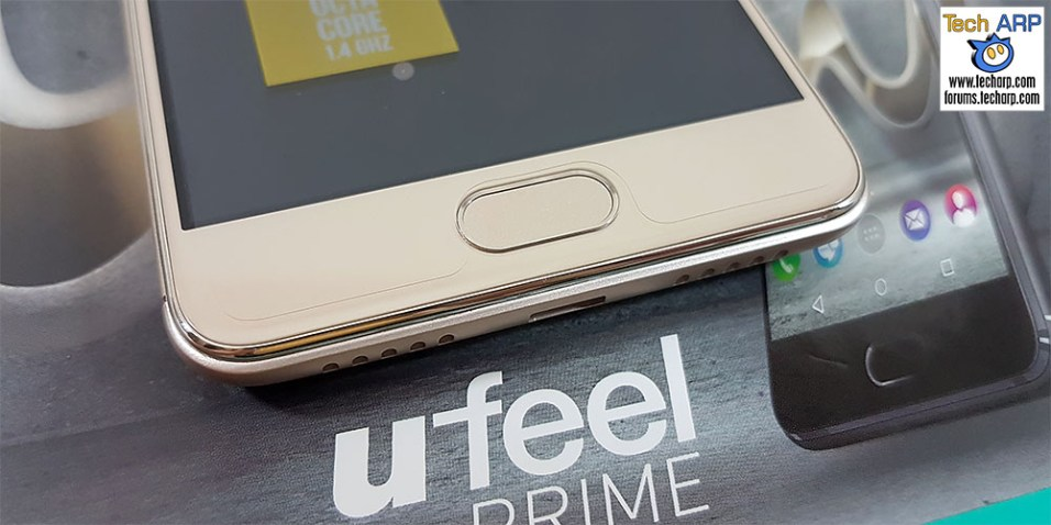 Wiko U Feel Prime capacitive touch buttons