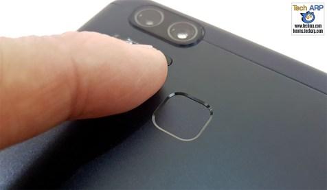 ASUS ZenFone 3 Zoom fingerprint sensor