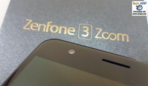 ASUS ZenFone 3 Zoom front camera