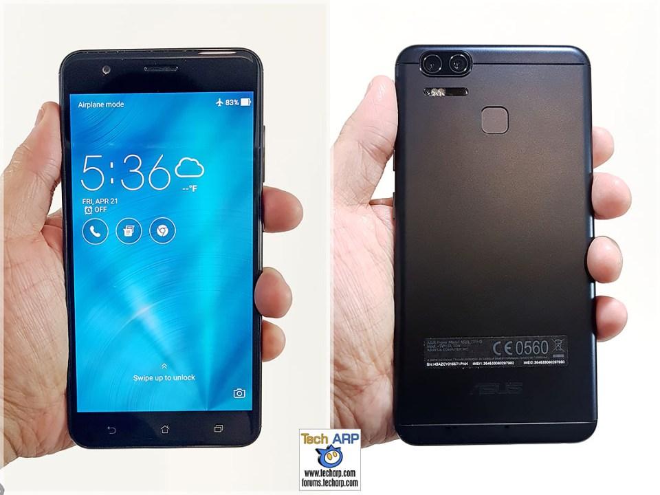 ASUS ZenFone 3 Zoom in hand