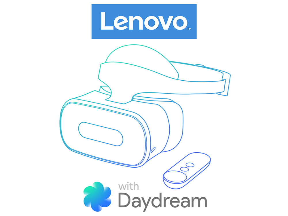 Google Collaborates With Lenovo On Daydream VR Headset
