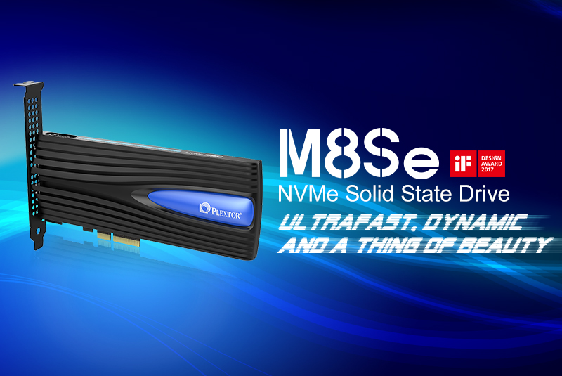 The Plextor M8Se NVMe SSD Series Launched